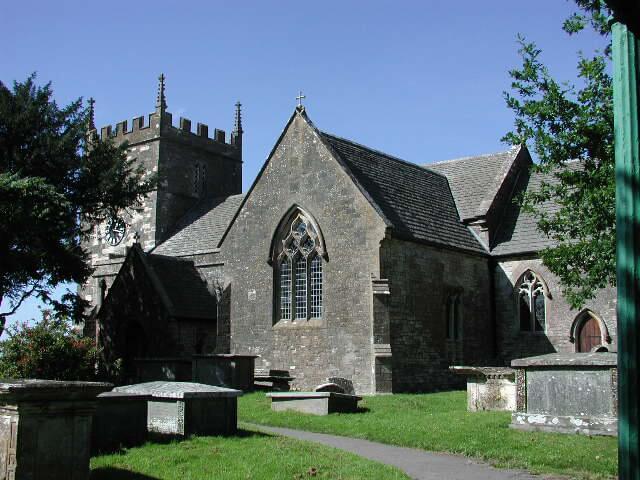 Old Sodbury Church St John the Baptist in Gloucestershire