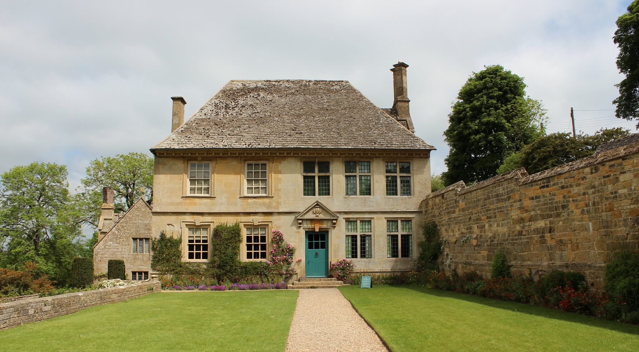 A photograph of Snowshill Manor