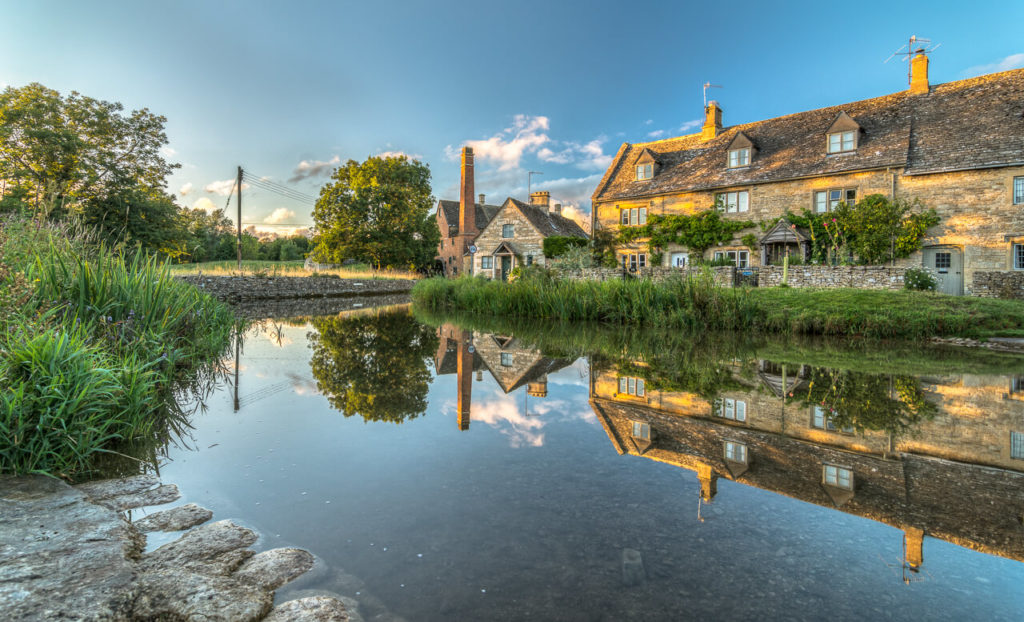 Cottages by a River in Lower Slaughter