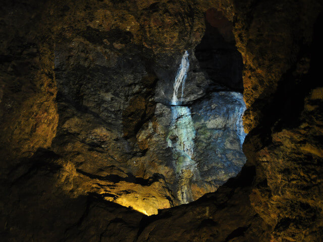 The spellbinding Clearwell Caves near Coleford