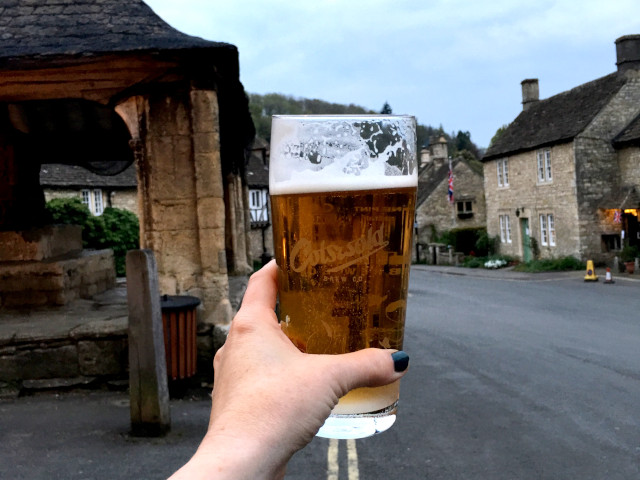 Cotswold Brew Co sample in Bourton-on-the-Water