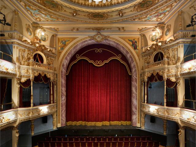 The stunning Everyman Theatre in Cheltenham