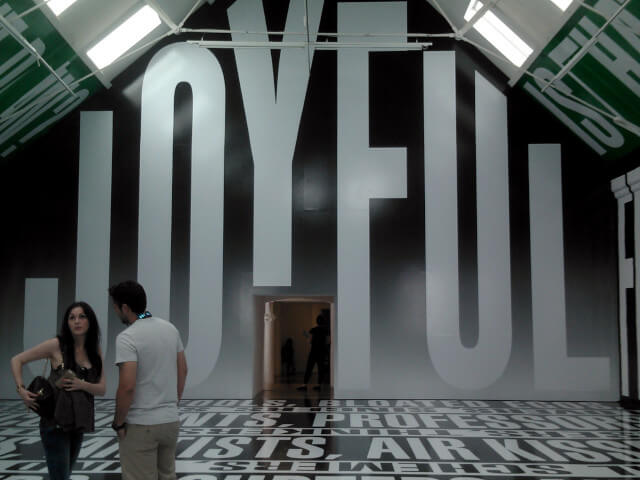 """Joyful"" exhibition at Modern Art Oxford"
