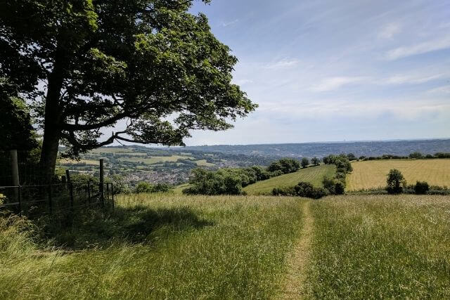 Views from the Cotswold Way