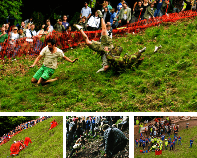 Cheese Rolling Festival Cooper's Hill