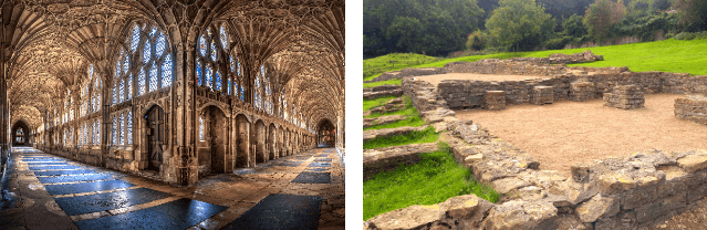 Gloucester Cathedral & Great Witcombe